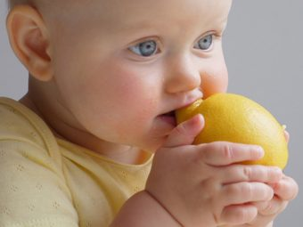 Lemon For Babies: When To Introduce, Benefits And Side Effects
