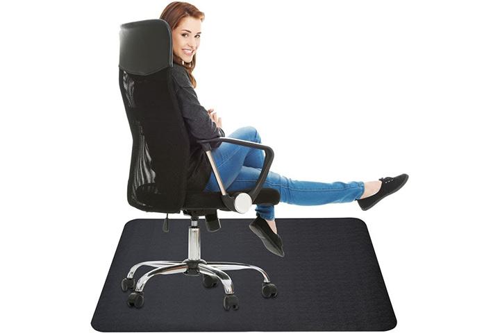 Lemostaar Office Chair Mat for Hard Floor