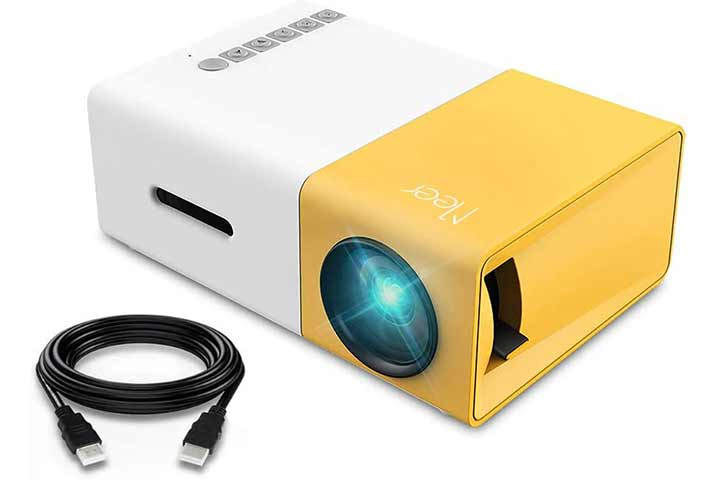 Meer Portable Pico Full Color Video Projector