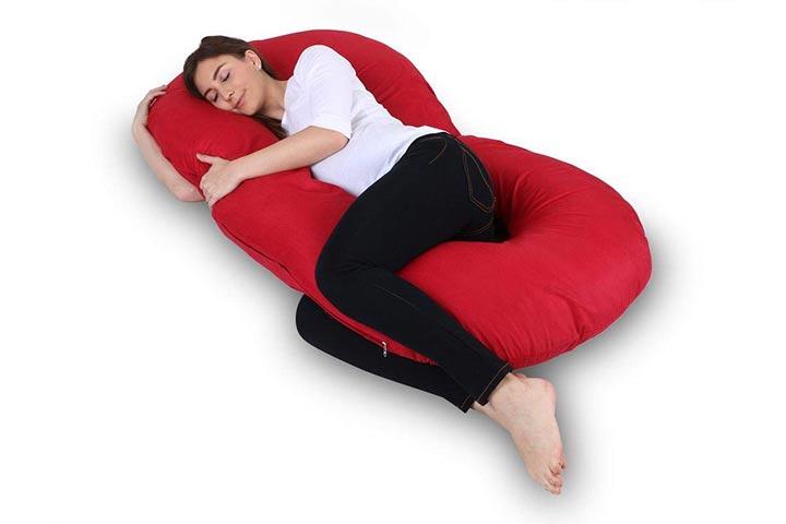 Momsyard Full Body C Shape MaternityPregnancy Pillow