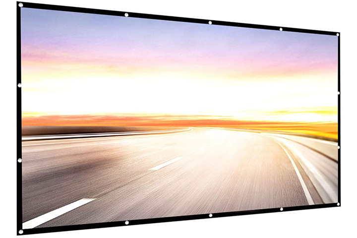 P-Jing 150-Inch Portable Projector Screen