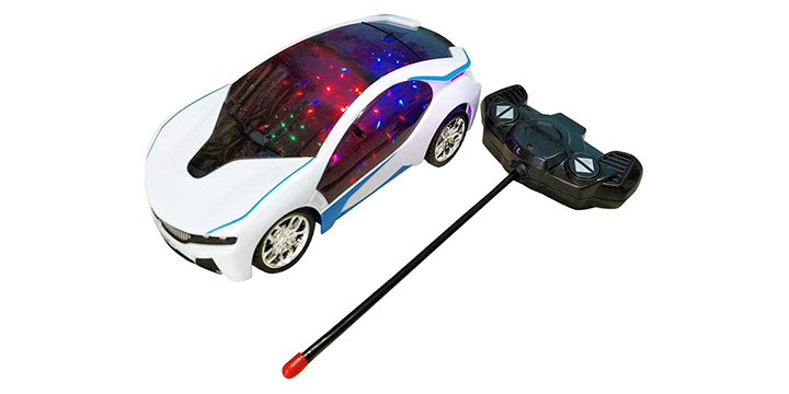 Remote control rechargeable car toy