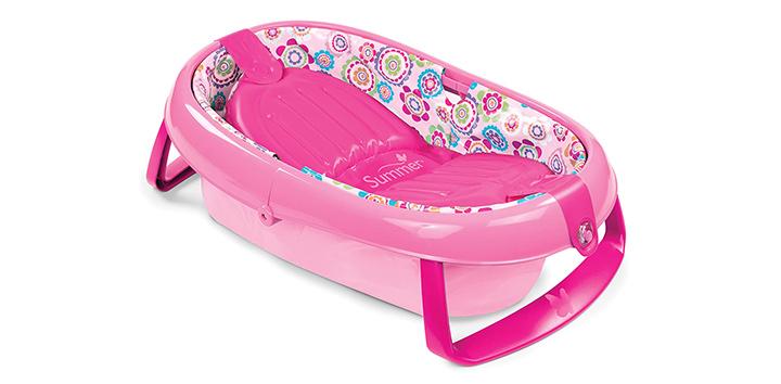 Summer Infant Store Fold Away Baby Bathtub