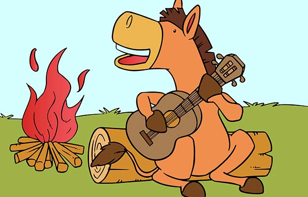 The Musical Donkey In Hindi