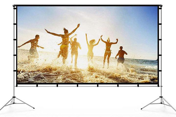 Vamvo Outdoor-Indoor Projector Screen