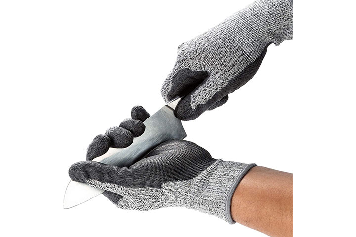 Vgo 2-Pairs Level 5 Cut Resistant Gloves
