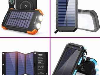 11 Best Solar Chargers For Camping In 2021