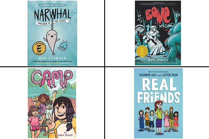 13 Best Graphic Novels For Kids In 2020