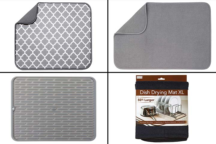 15 Best Dish Drying Mats To Buy In 2020