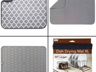 16 Best Dish Drying Mats To Buy In 2021