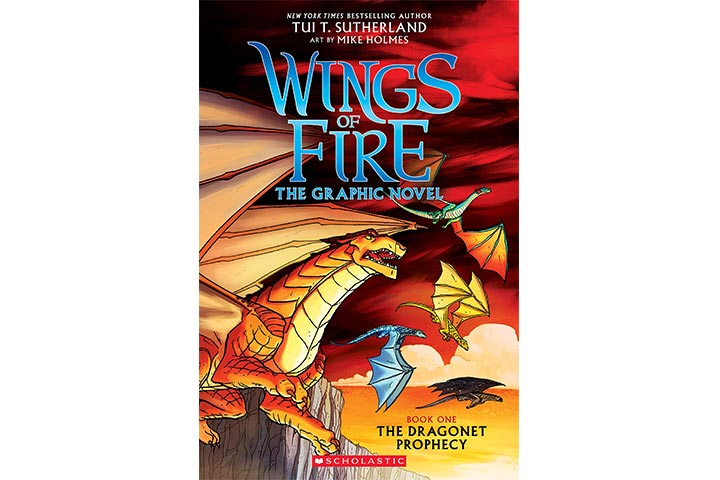 A Graphix Book: Wings Of Fire By Tui T. Sutherland and Mike Holmes