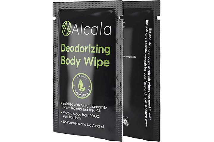 Alcala Deodorizing Body Wipes
