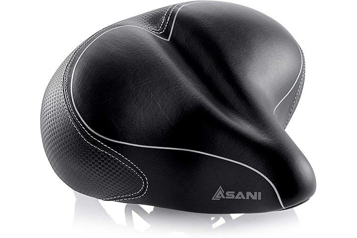 Asani Oversized Bicycle Saddle