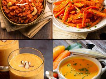 बच्चों के लिए गाजर की 10 स्वादिष्ट रेसिपी | Baccho Ke Liye Gajar Ki Recipe In Hindi