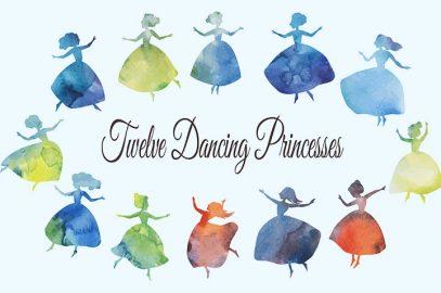 नृत्य करने वाली - बारह राजकुमारियों की कहानी   Bara Rajkumari Ki Kahani