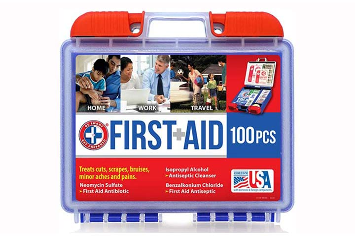 Be-Smart-Get-Prepared-100-Piece-First-Aid-Kit