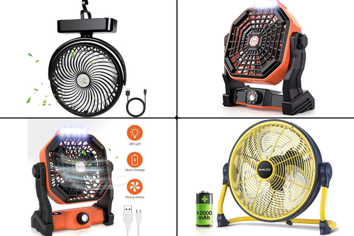 Best Camping Fans For The Perfect Camping Trip Next Summer