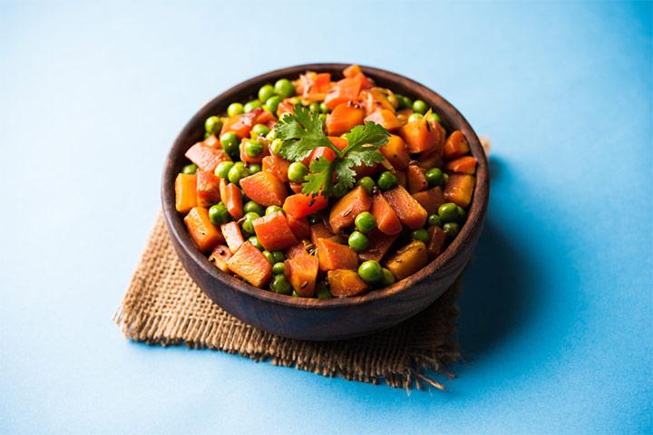 Carrot Pea Vegetable