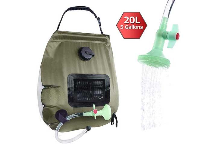 Electrfire Solar Shower Bag
