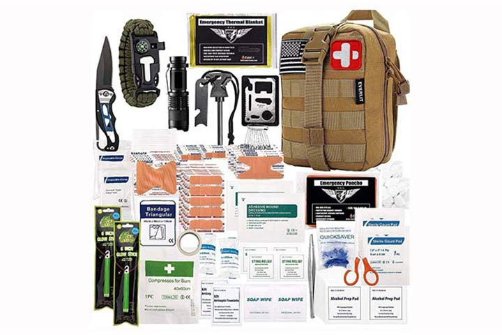Everlit-250-Pieces-Survival-First-Aid-Kit
