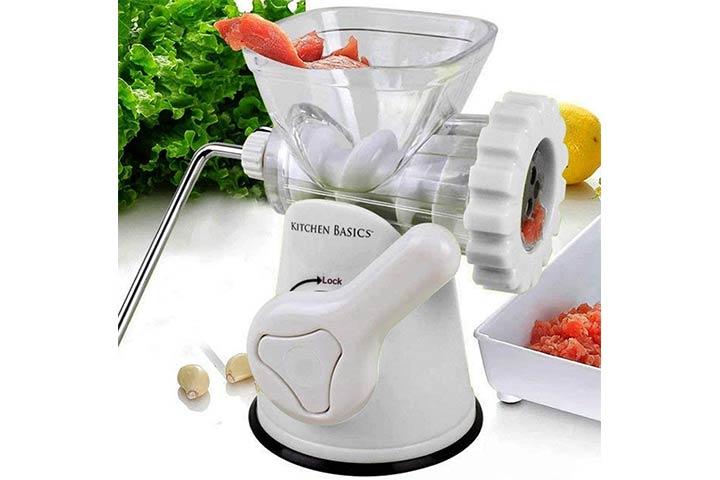 F&W Kitchen Basics Manual Sausage Stuffer