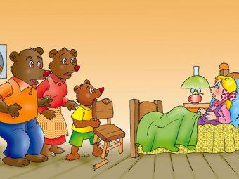 गोल्डीलॉक्स और तीन भालुओं की कहानी | Goldilocks And Three Bears In Hindi