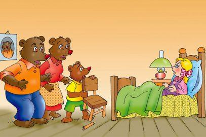 गोल्डीलॉक्स और तीन भालुओं की कहानी   Goldilocks And Three Bears In Hindi