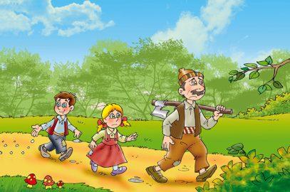 हंसेल और ग्रेटल - दो बच्चों की कहानी   Hansel And Gretel Story In Hindi