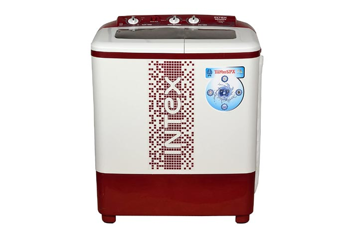 Intex 6.2 kg Semi-automatic Top Load Washing Machine
