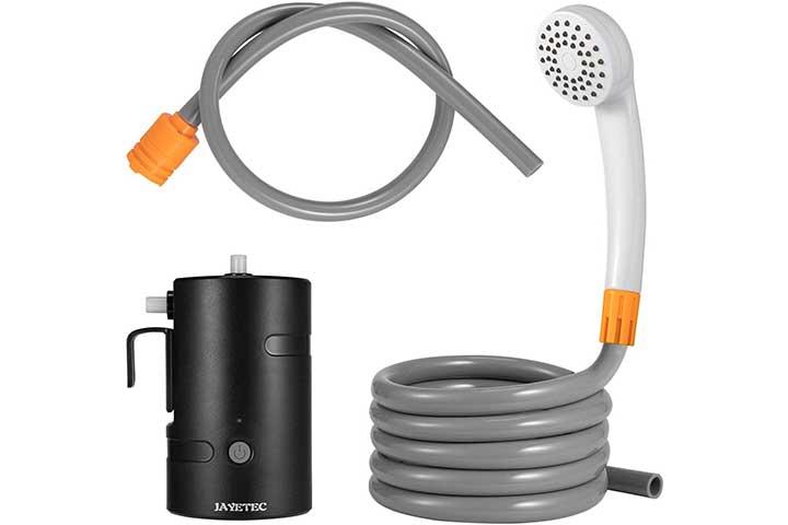 Jayetec Portable Outdoor Shower Set