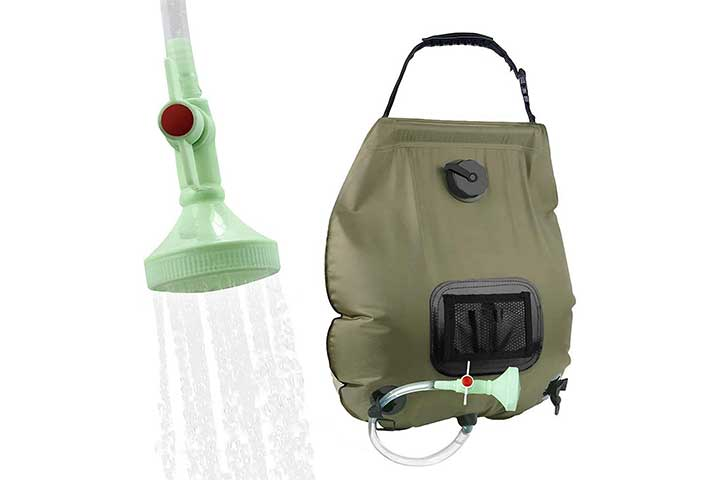 Kipida Solar Shower Bag