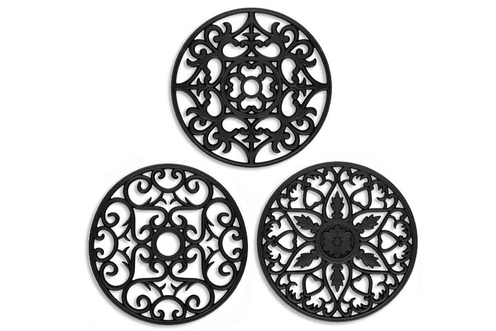 ME.FAN Silicone Mat Set of 3