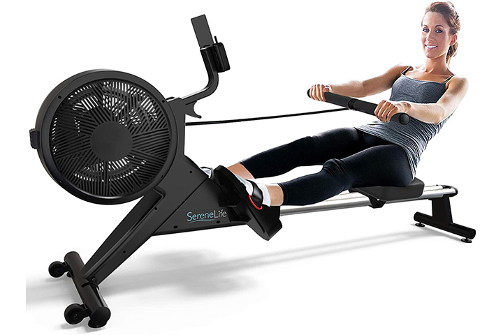 SereneLife Smart Rowing Machine