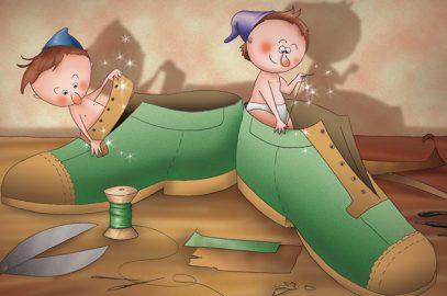 बौनों और मोची की कहानी - एल्वेस और शू मेकर   Shoemaker And The Elves Story In Hindi