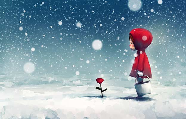 Snow White And Red Rose Story In Hindi