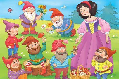 स्नो व्हाइट और सात बौनों की कहानी   Snow White And The Seven Dwarfs In Hindi