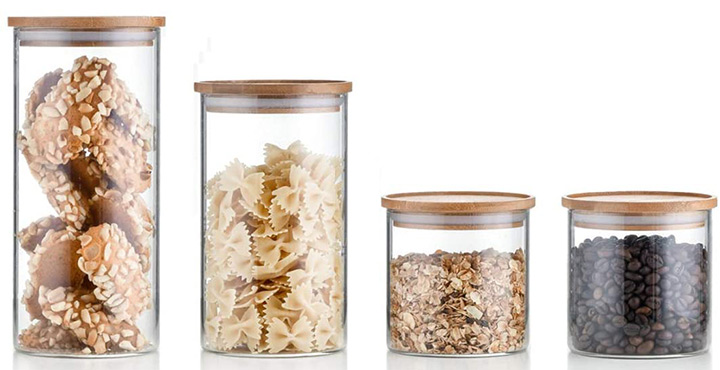 Sweejar Glass Jar Set