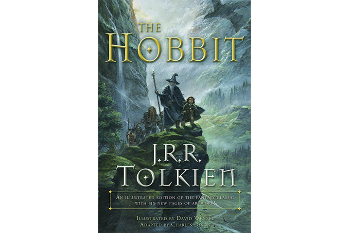 The Hobbit By Charles Dixon, J. R. R. Tolkien, and David Wenzel
