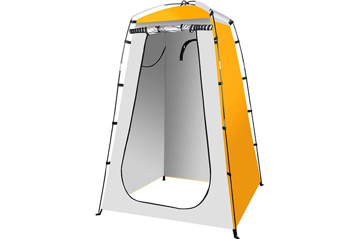 UpStarTech Quick Set-up Shower Tent