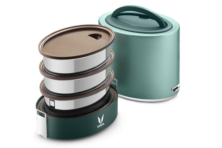 Vaya Tyffyn Stainless Steel Lunch Box