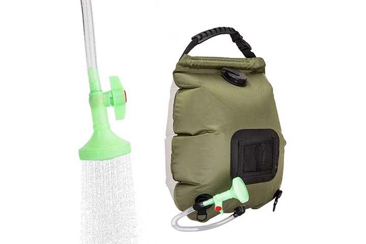 Viglt Solar Shower Bag For Camping