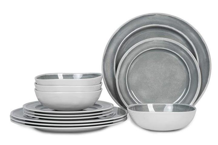 Webbylee Melamine Dinnerware Set