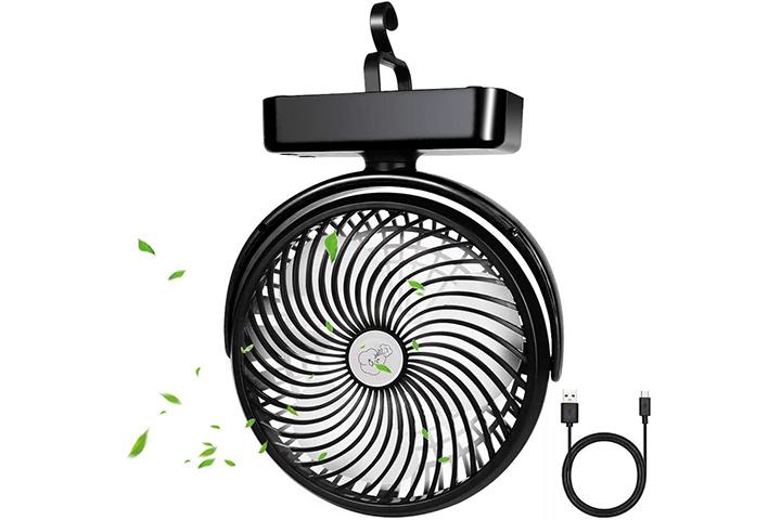 Yostyle Camping Fan with LED Lantern