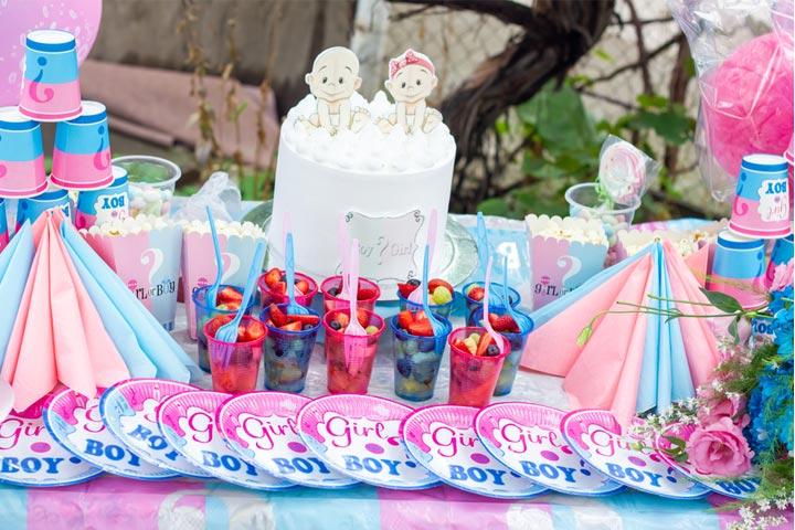 30 Best Baby Gender Reveal Party Food Ideas-1