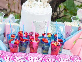30 Best Baby Gender Reveal Party Food Ideas