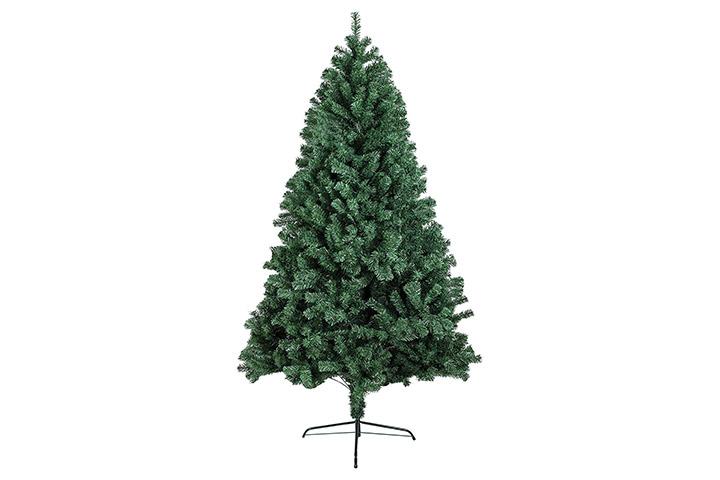 BHD BEAUTY Hinged Artificial Christmas Pine Tree