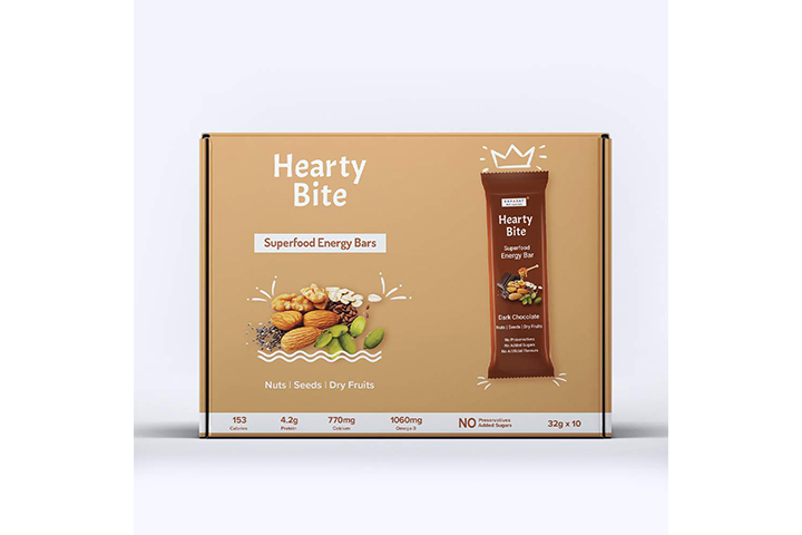 BarADay Dark Chocolate Energy Bars