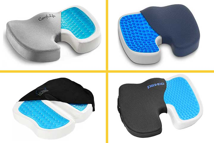 Best Gel Seat Cushions for sitting Long Hours, in 2020