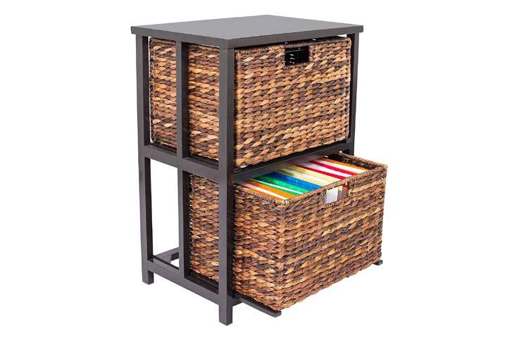 BirdRock Home File Cabinet
