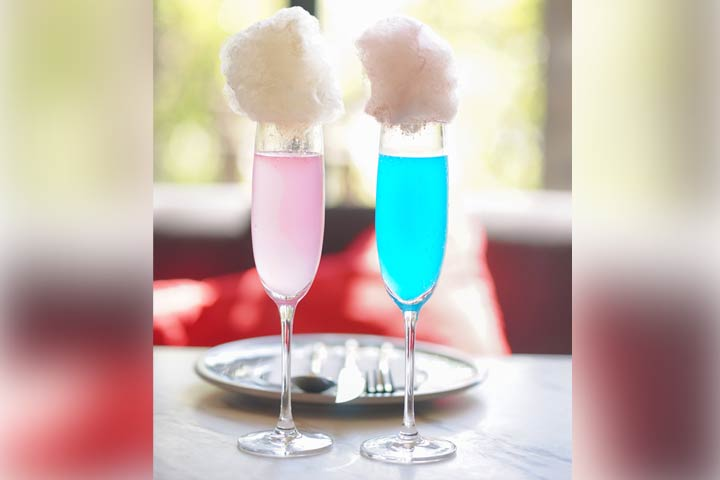 Cotton candy toast